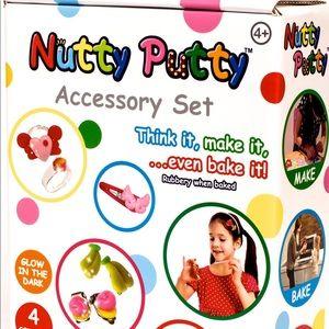 Nutty putty accessory set! NWT